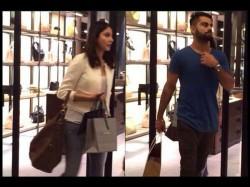Pics Virat Kohli Anushka Sharma Caught Shopping Delhi
