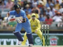 Team India Gives Target Of 309 To Australia Brisbane Odi