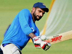 Shikhar Dhawan Disappointed With His Performance In World T