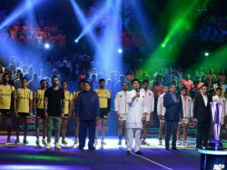 Virat Kohli Attends Pro Kabaddi League Encounter