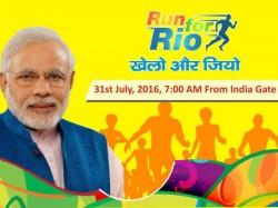 Run For Rio Preprations Are Full Swing In New Delhi