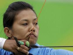 Deepika Kumari Bombayla Devi In Badminton Rio Olympics
