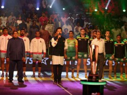 Pro Kabaddi Season 4 Final Patna Lift Trophy Second Time Beat Jaipur