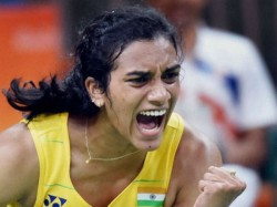 Shuttler P V Sindhu Enters Rio Olympics Semis Pictures