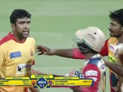 R Ashwin Gets Angry On Opposite Team Players During Tnpl Match