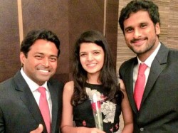 Tennis Player Saketh Propose His Girlfriend Davis Cup Dinner