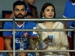 Lovebirds Anushka Virat Kohli Attended An Isl Match Goa Pictures