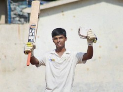 Cricketer Pranav Dhanawade Protests Copter Landing Dragged To Police Station