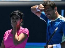 Australian Open Sania Mirza Dodig Edge Beats Rohan Bopanna In Mixed Doubles