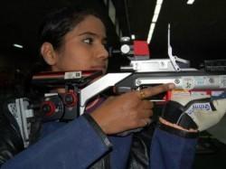 Pooja Ghatkar Clinches 10m Air Rifle Bronze In Issf World Cup