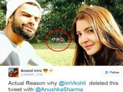 Why Virat Kohli Deleted The Tweet Wishing Anushka Sharma Valentine Day