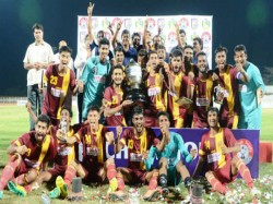 Santosh Trophy Bengal Emerge Champions Beating Goa