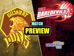 Ipl Match Preview Gujarat Lions Vs Delhi Daredevils