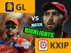 Ipl 2017 Match Higlights Kings Eleven Punjab Vs Gujarat Lions