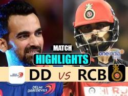 Ipl 2017 Match Highlights Delhi Daredevils Vs Royal Challengers Bangalore 56th Match