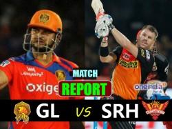 Ipl 2017 Gujarat Lions Vs Sunrisers Hyderabad 53rd Match Live Score From Green Park Kanpur