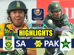 Champions Trophy 2017 Match Highlights Of Pakistan Vs South Africa 7th Match