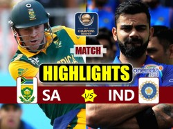 Champions Trophy 2017 Match Highlights Of India Vs South Africa 11th Match