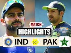 Champions Trophy 2017 Match Highlights India Vs Pakistan 4th Match
