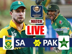 Champions Trophy 2017 Pakistan Vs South Africa 7th Match Group B Live Cricket Score