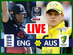 Champions Trophy 2017 England Vs Australia 10th Match Group A Live Cricket Score