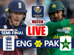 Champions Trophy 2017 England Vs Pakistan 1st Semi Final A1 V B2 Live Cricket Score