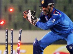 Watch Video Kuldeep Yadav Ms Dhoni Bamboozle Jason Holder For Slowest Stumping