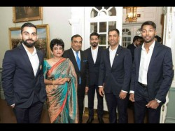 Champions Trophy 2017 Team India Attends Reception At Indian High Commission In London