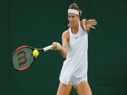 Mandy Minella Play Tennis While Four A Half Months Pregnant