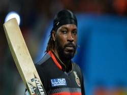 Chris Gayle Take Field Against Team India T