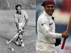Former Cricketer Virender Sehwag Salutes Major Dhyan Chand