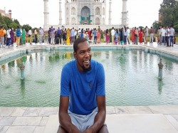 Basketball Star Kevin Durant Has Issued An Apology Saying India Is 20 Years Behind