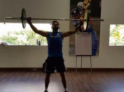 India Vs Sri Lanka Watch Video Of Virat Kohli Sweat It In The Gym