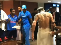Indian Team Celebrated Manish Pandey Birthday After Win Against Australia In 2nd Odi