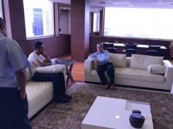 Ms Dhoni Met N Srinivasan Day After Chennai Odi