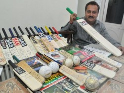 Dharamveer Duggal Possesses Over 536 Bats Balls Signed By World Renowned Cricketers