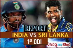 Live India Vs Sri Lanka 1st Odi Cricket Score Commentary From Dharamsala