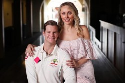 Girlfriend Dani Willis Steve Smith S Training Partner
