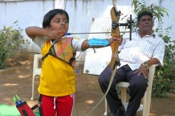 Year Old Archery Sensation Dolly Shivani Cherukuri Aims To Improve Her Performance