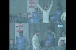 India Vs Sri Lanka 3rd Test Feroz Shah Kotla Seen Virat Kohli Angry Face India Declare Innings