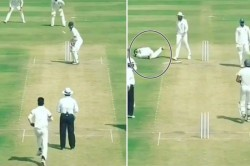 Viral Video Delhi Players Did Not Help Vidarbha Batsman Get Hit By Bouncer