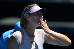 Australian Open Maria Sharapova Wins On Return
