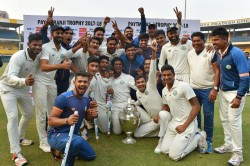Ranji Trophy 2017 Vidarbha Beat Delhi 9 Wickets Lift Maiden Ranji Title