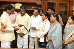 Gymnast Aruna Reddy Given Employment South Central Railway In Group C Category