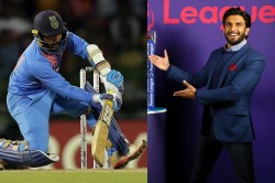 Bollywood Actor Ranveer Singh Go Crazy Admiration Dinesh Karthik