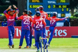 Nepal Achieve Odi Status With Emphatic Six Wicket Win Over Papua New Guinea