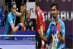 Commonwealth Games2018 Manika Batra Sathiyan Gnanasekaran Win Bronze In Mixed Doubles Table Tennis