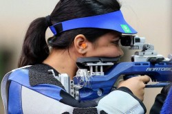 Commonwealth Games 2018 Mehuli Ghosh Win Silver Apurvi Chadela Wins Bronze Medal 10 Metre Air Pistol