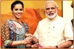 Saina Nehwal Babita Phogat Thanks Prime Minister