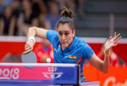 Table Tennis Manika Batra Beats Mengyu Yu Singapore Clinch Gold